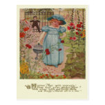 Vintage Mary, Mary Rhyme Post Cards