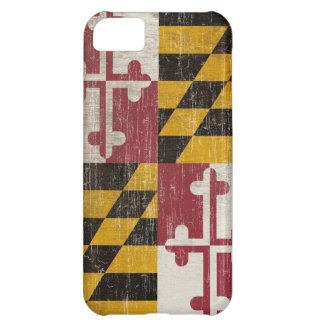 Vintage Maryland Flag iPhone 5C Case