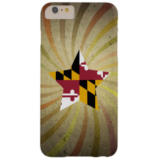 Vintage Marylander Flag Swirl Barely There iPhone 6 Plus Case