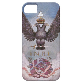 Vintage Masonic Print Case For The iPhone 5
