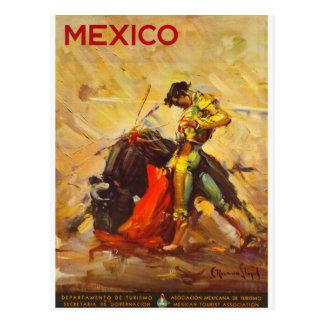 Vintage Matador Mexico - Mexican Travel Tourism Postcard