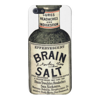 Vintage Medical Brain Salt - iPhone Case iPhone 5/5S Case