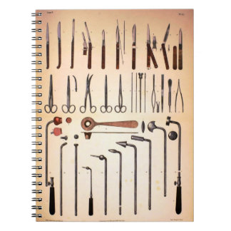 Vintage Medical Instruments Notebook