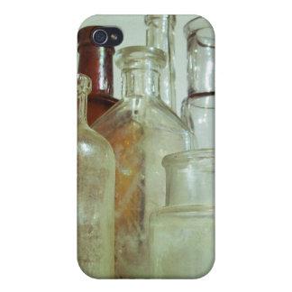 Vintage Medicine Bottle Display iPhone 4/4S Case