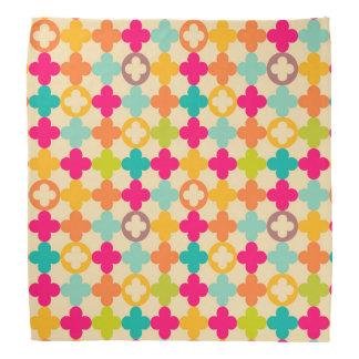Vintage medieval rosette pattern bandana