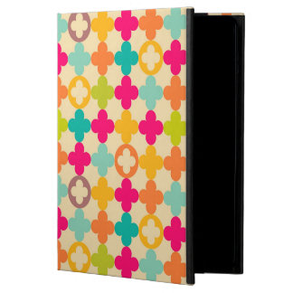 Vintage medieval rosette pattern iPad air cover