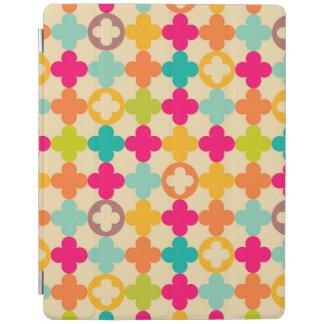 Vintage medieval rosette pattern iPad cover