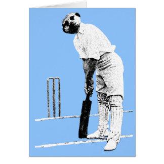 vintage meerkat cricketer card