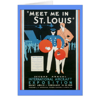 Vintage Meet Me In St.Louis Card
