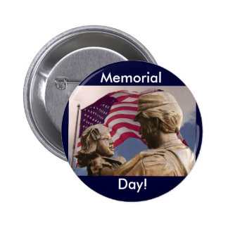 Vintage Memorial Day Homecoming Button