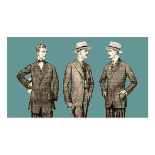 Vintage Men Business Card