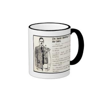 Vintage Men s Suits Personalized Mug
