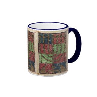 Vintage Menorah, Festival of Lights Happy Hanukkah Mugs