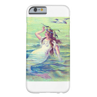 Vintage Mermaid Barely There iPhone 6 Case