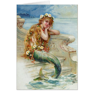Vintage Mermaid by E.S. Hardy Card