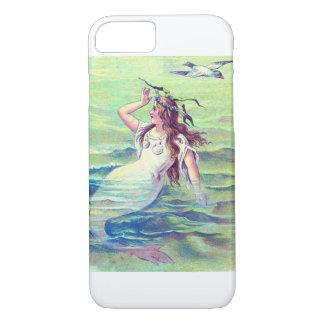 Vintage Mermaid iPhone 7 Case