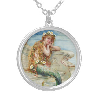 Vintage Mermaid Pendant