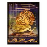 Vintage Mermaid Postcard