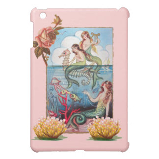 VINTAGE MERMAID POSTCARD SPECK iPHONE HARD SHELL Case For The iPad Mini