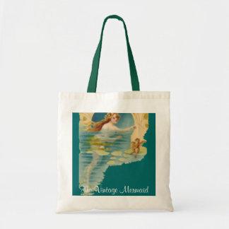 Vintage Mermaid Tote