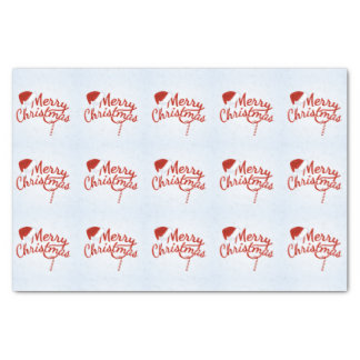 Vintage Merry Christmas Candy Tissue Paper