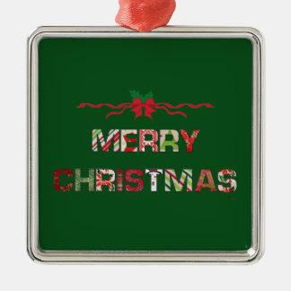 Vintage Merry-Christmas Holiday Christmas Ornament