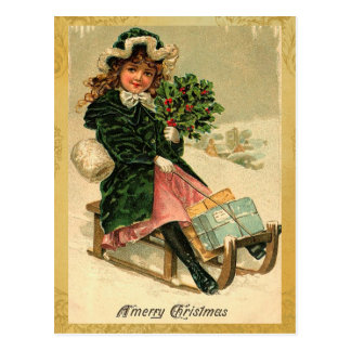 Vintage Merry Christmas Postcards