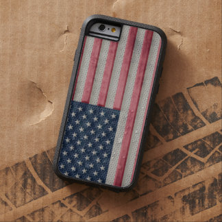 Vintage Metal Flag of United States of America Tough Xtreme iPhone 6 Case
