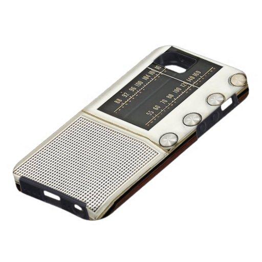 Vintage Metal Radio iPhone 5 Case
