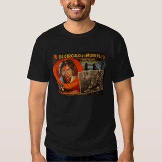 Vintage Mexican Lobby Card:  Edgar Wallace Krimi Tee Shirts
