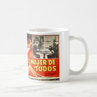 Vintage Mexican movie poster mug