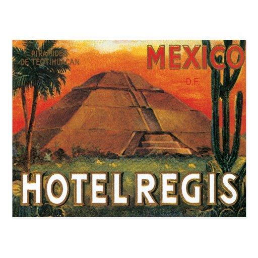 Vintage Mexico Hotel Postcards