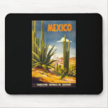 Vintage Mexico Mouse Pads