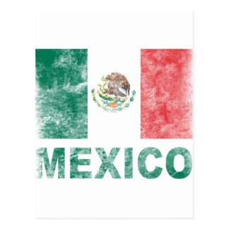 Vintage mexico postcard