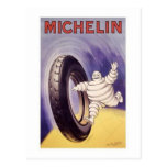 Vintage Michelin TIres Ad 2 Postcard