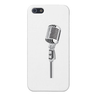 Vintage microphone case for iPhone 5/5S