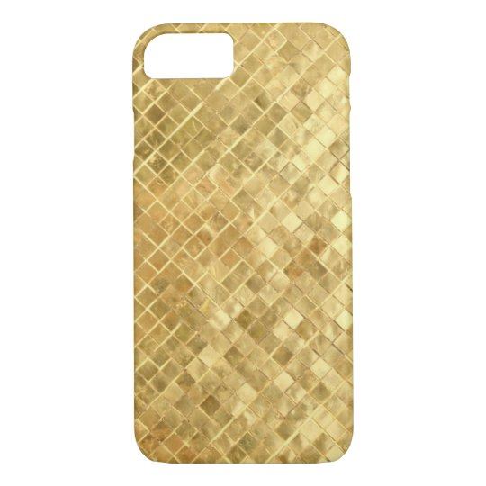 Vintage Mid Fifties gold texture iPhone 8/7 Case