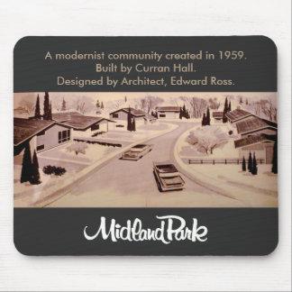 Vintage Midland Park Toronto Mousepad