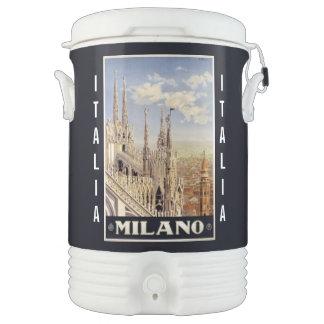 Vintage Milano Milan Italy custom beverage cooler
