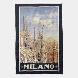 Vintage Milano Milan Italy hand towel