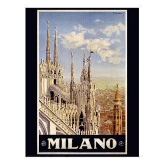 Vintage Milano Milan Italy postcard