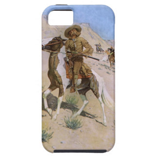 Vintage Military Cowboys, The Scout by Remington iPhone 5 Case