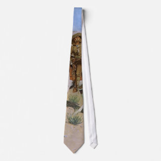Vintage Military Cowboys, The Scout by Remington Tie