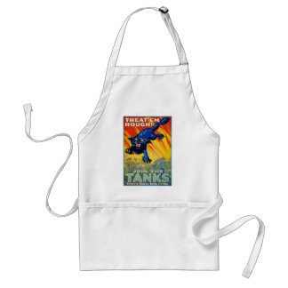 Vintage Military War Advertising with a Wild Cat Standard Apron