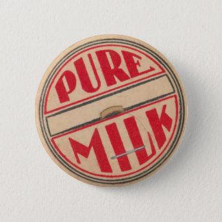 Vintage Milk Bottle Cap Button