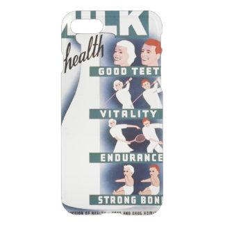 Vintage Milk for Health WPA iPhone 7 Case