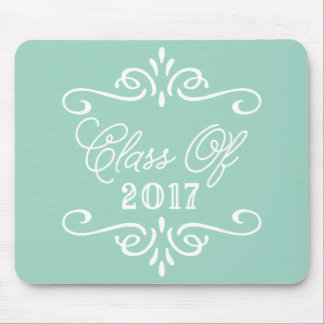 Vintage Mint Green | Graduation Mouse Mat