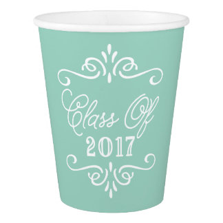 Vintage Mint Green | Graduation Paper Cup
