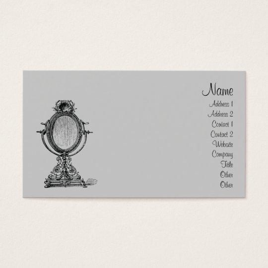 Vintage Mirror Business Card