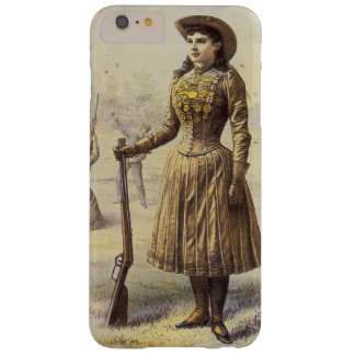 Vintage Miss Annie Oakley, Western Cowgirl Barely There iPhone 6 Plus Case